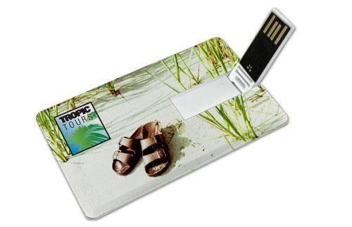 USB card personalizat pentru un impact maxim!
