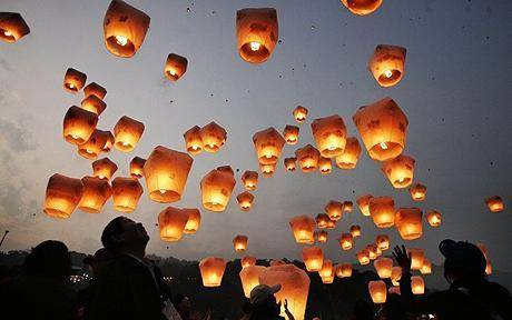 Lampioane zburatoare