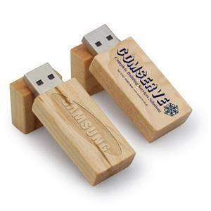 USB din lemn / bambus